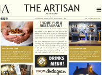 The Artisan Frome Website